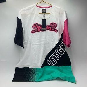 🐅Le Tigre - men's Retro Dash Graphic T-Shirt.